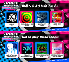 DANCE RE:WIND (NAOKI edition) - 'song list'