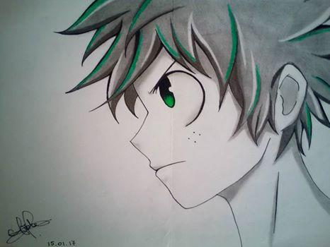 Midoriya Izuku From My Hero Academia By Sakurachan2a On
