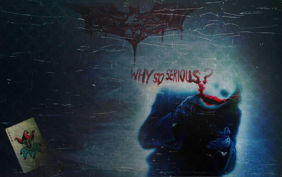 Dark Knight WallPaper - Joker by MimiMunster