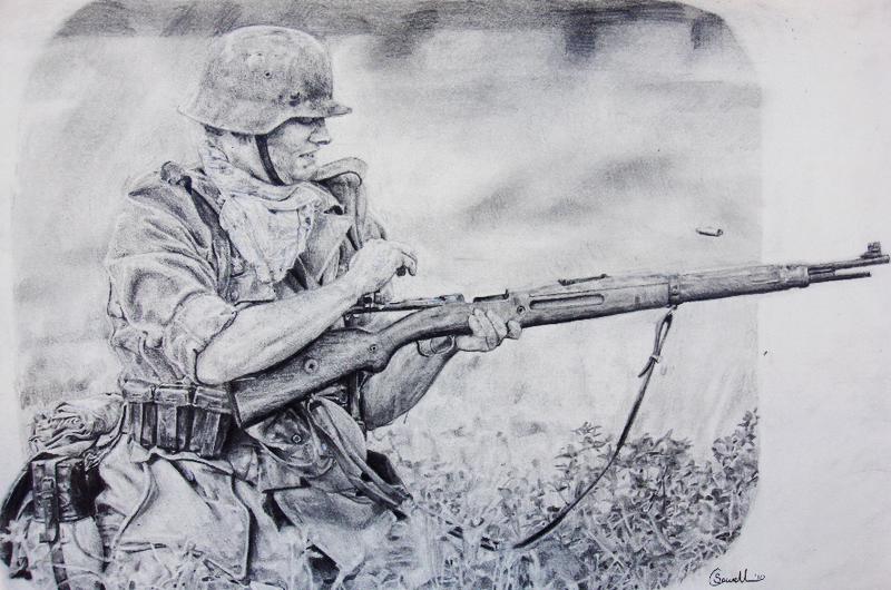 German soldier by thdark on deviantart german soldier by thdark altavistaventures Image collections