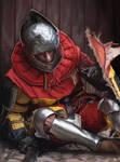 Tired Knight Study