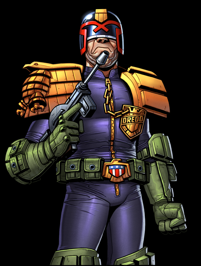 Judge Dredd by thdark