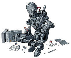 Robot Model Kit by thdark