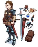 Mercenary's Inventory by thdark