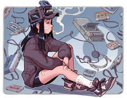 Fan-Art: Dondorororo's Cassette Girl