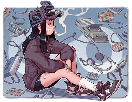 Fan-Art: Dondorororo's Cassette Girl