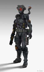 Barghest Armor 2.0 by RemorseC0de