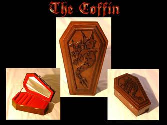 The Coffin - Jewelery box by Leboisdolivier