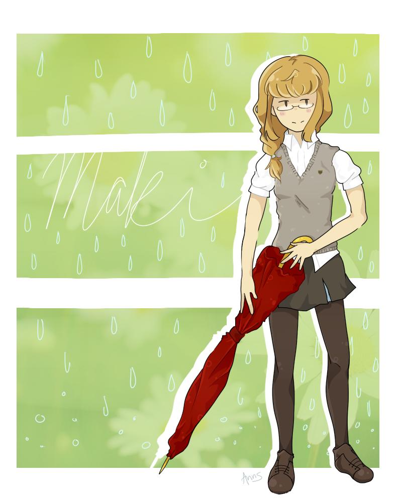 Honoka Maki - Kiznaiver by asel1