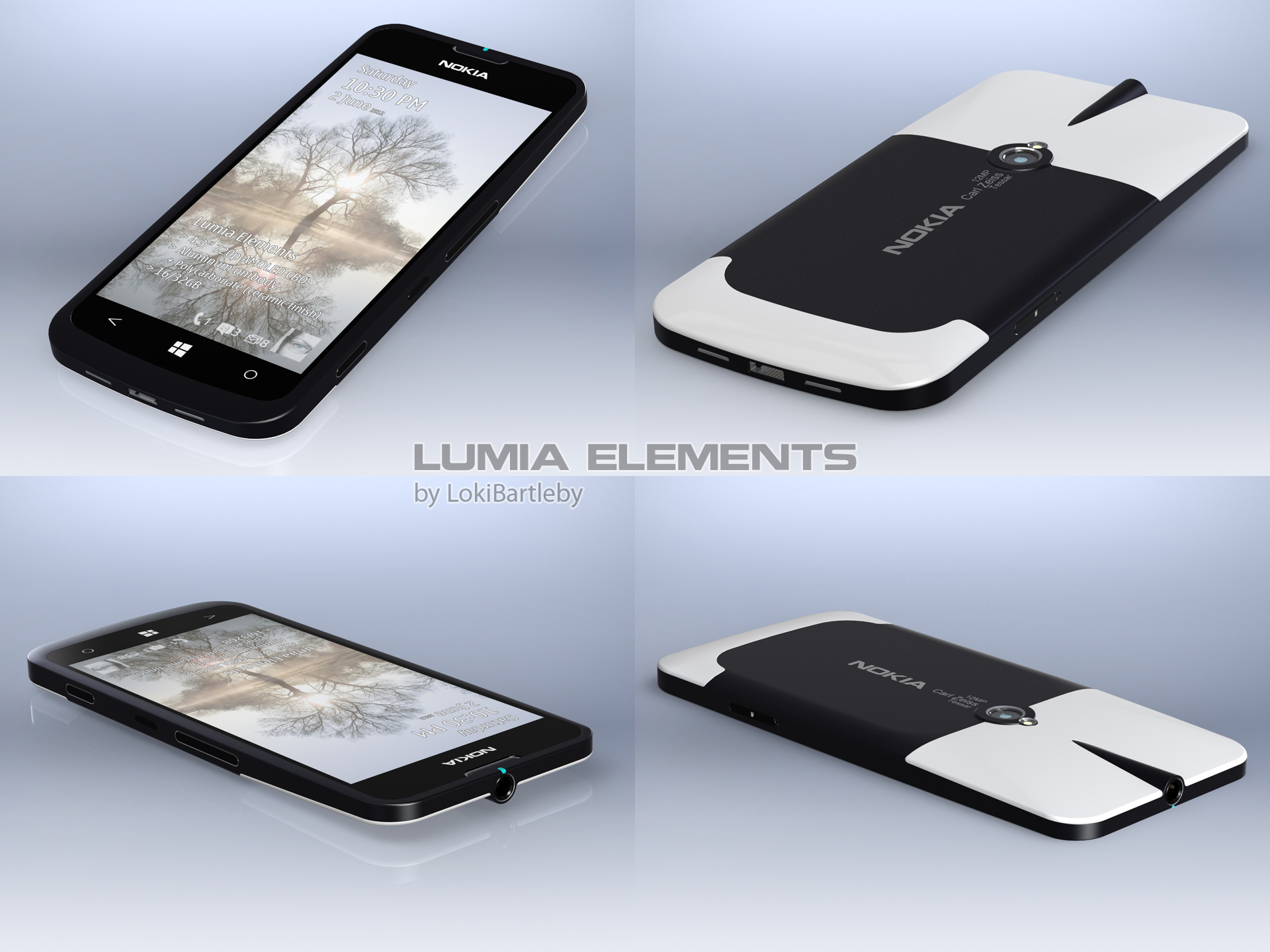 Nokia Lumia Elements by LokiBartleby