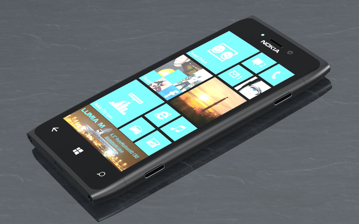 Lumia M (Front) by LokiBartleby