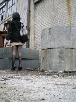 Teen with shoes