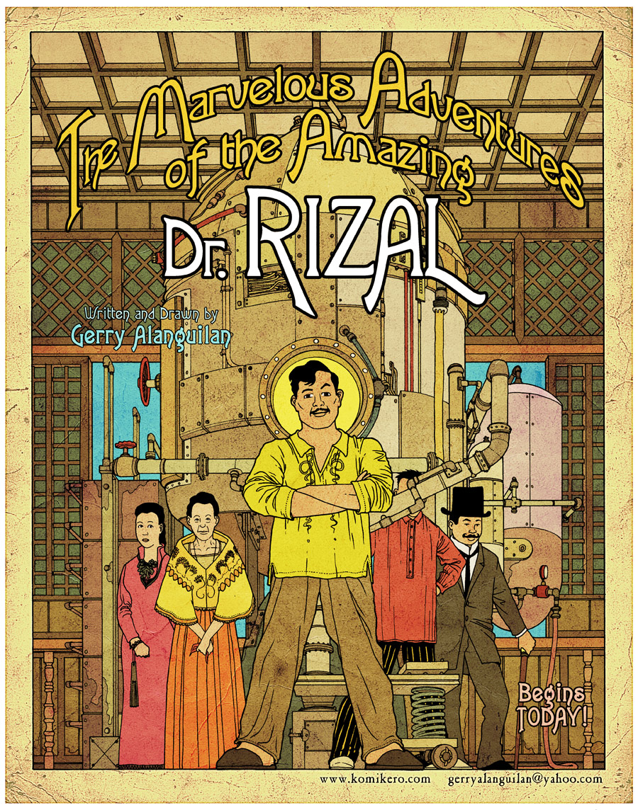 rizal comic strip Early education in calamba and bi an: rizal had his early education in calamba and bi an it was a typical schooling that a son of an ilustrado family received during his time, characterized by the four r's- reading, writing, arithmetic, and religion.
