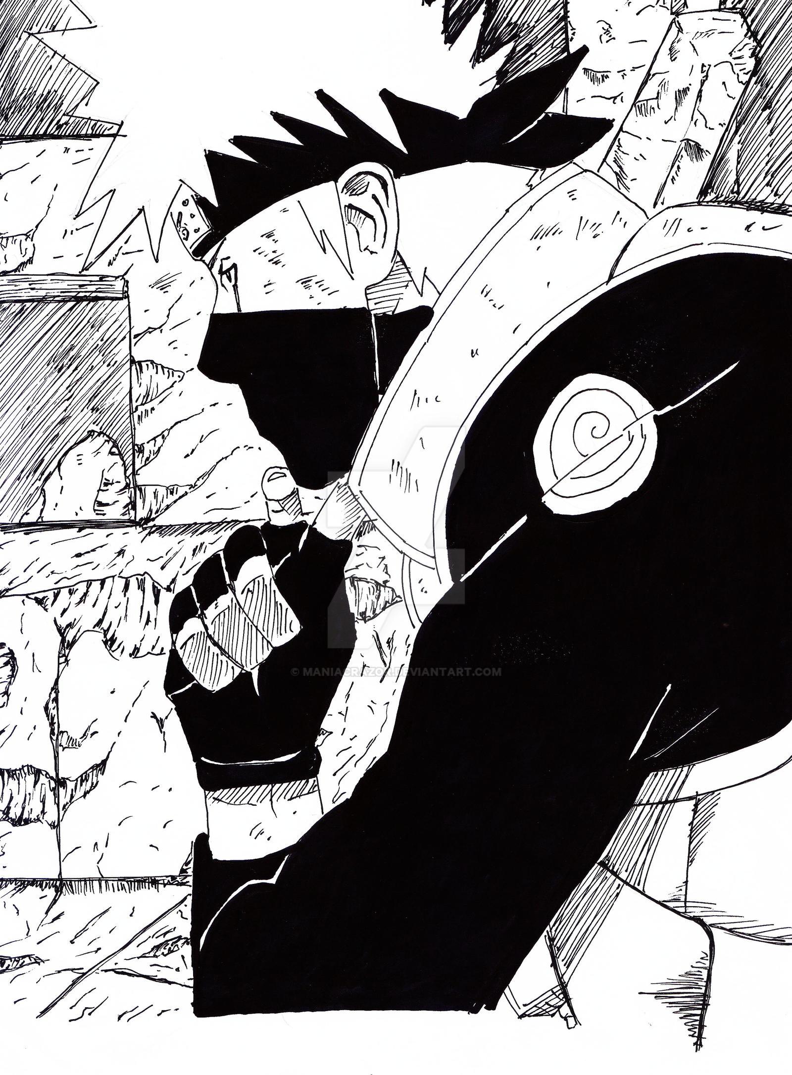 Kakashi hatake by maniacrazor on deviantart - Manga kakashi ...