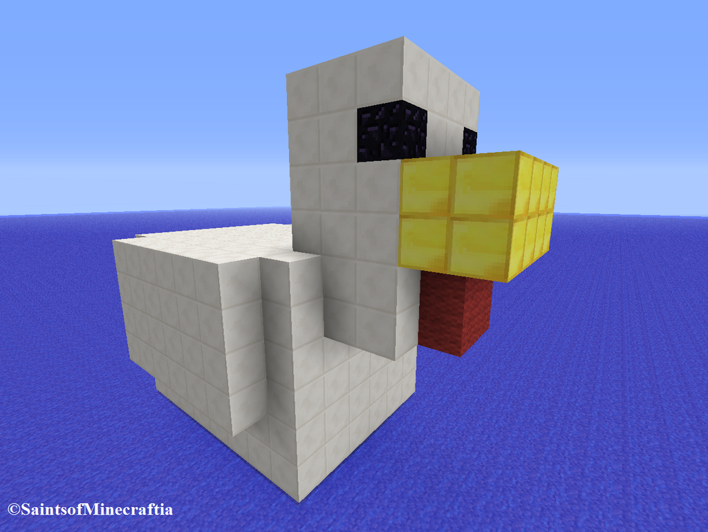 how to build a chicken in minecraft