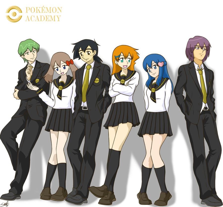 Pokemon Academy Group by BklynSharkExpert