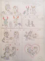 Spike and Sweetie Belle wedding waltz by 13mcjunkinm