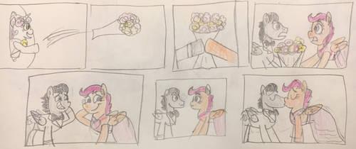 Spike and Sweetie Belles Honeymoon part 1 by 13mcjunkinm