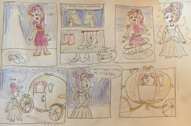 EQG Sweetie Belle and the glass slippers by 13mcjunkinm