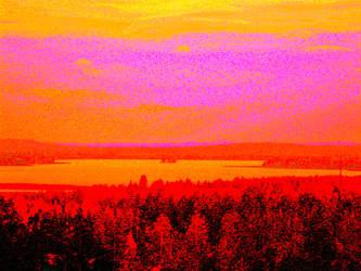 Sunset glow by hyyli