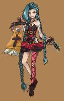:. Jinx .: the Fashionista! by AliceofBunny