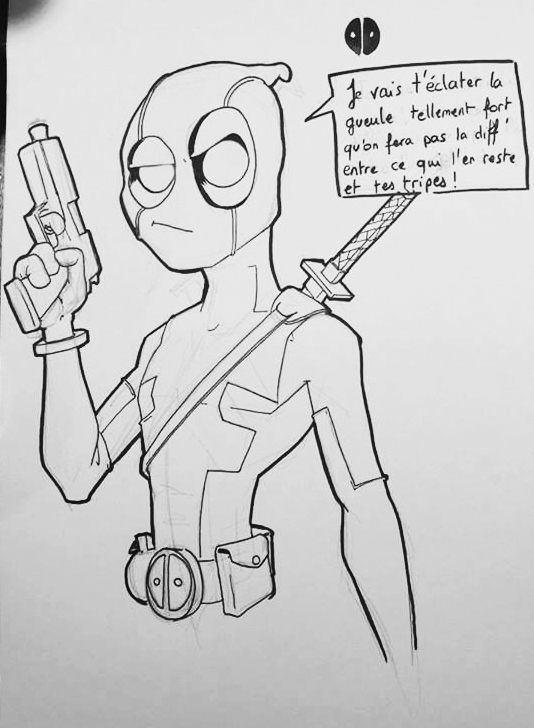 Deadpool Disney by Dreadmecanic