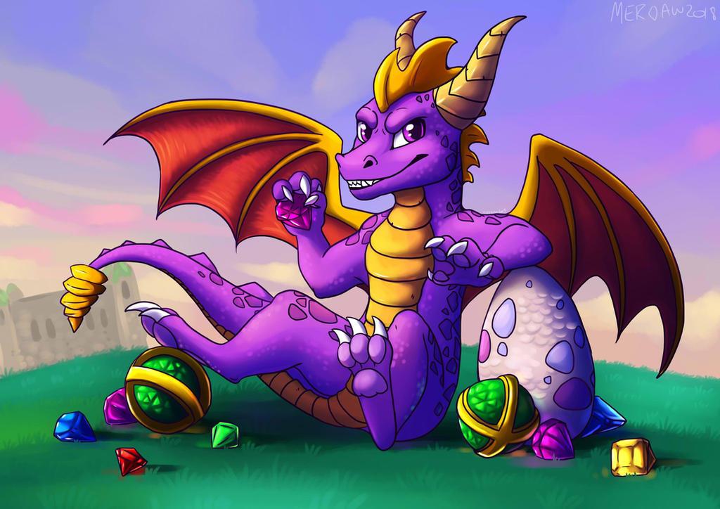 Spyro by meroaw