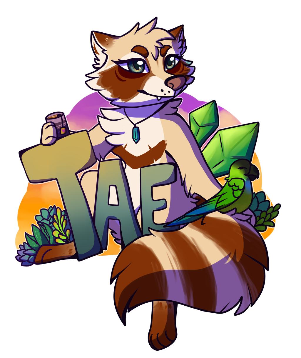Tae Badge by meroaw