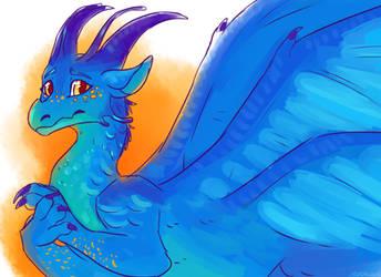 Blue by meroaw