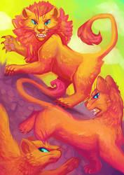 Lion by meroaw