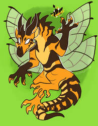 [wings of fire] queen wasp