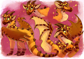 [comm] autumn dragon