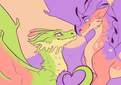 [wings of fire] luna and cricket