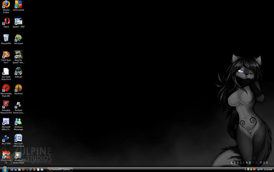 GREY FOX background by tailsrulz