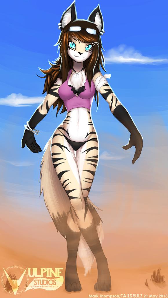 Commission: Sahara by tailsrulz