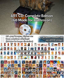 Art CD Complete Edition by tailsrulz