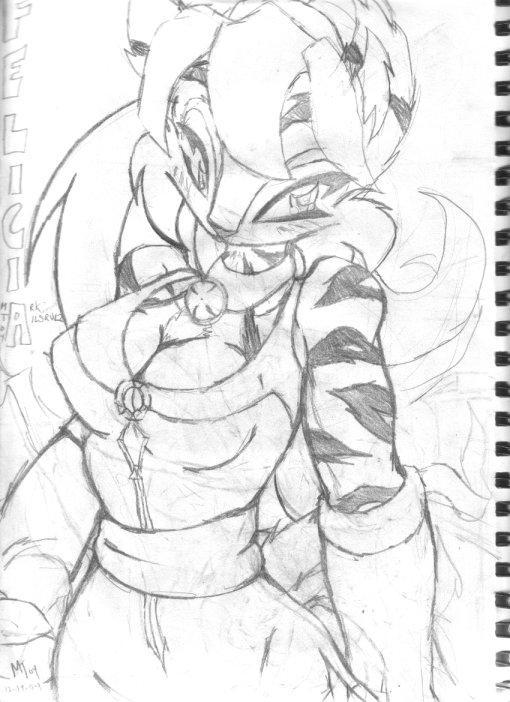 Felicia sketch by tailsrulz