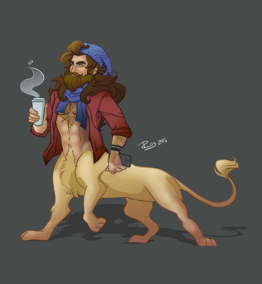 lion centaur by roboba