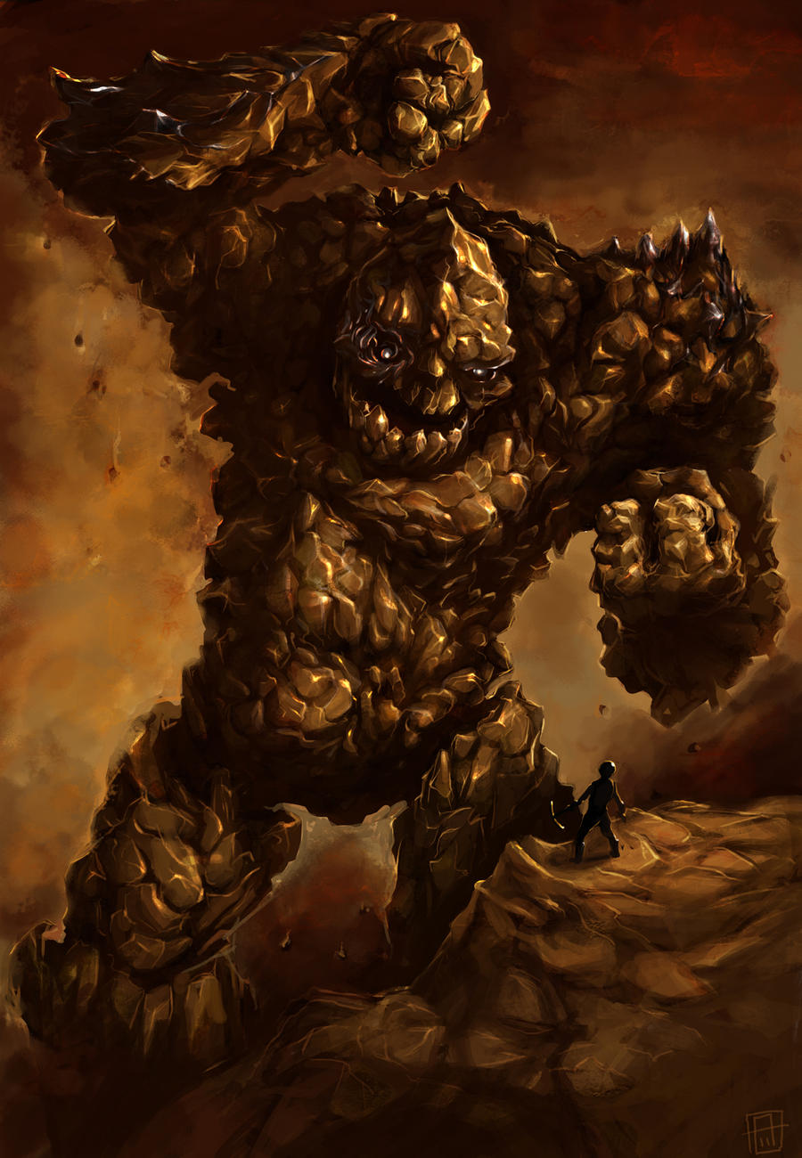 Earth Colossus by SirIce