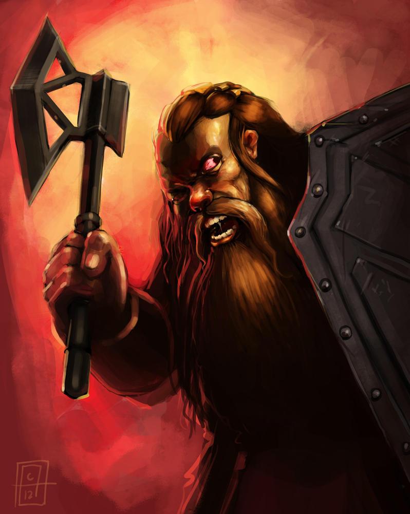 Dwarf Meatshield by SirIce