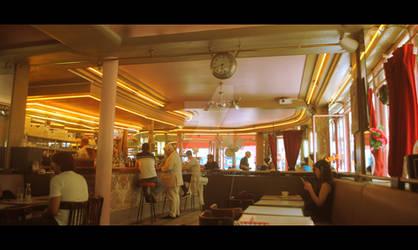 Cafe des Deux Moulins - Amelie Poulain