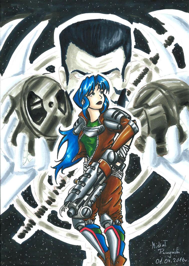 Destiny Is Tricky - Septerra Core Fanart Maya by Xpuk