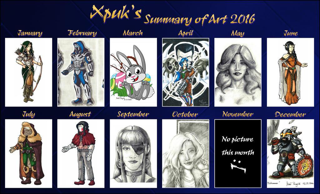 Summary of art 2016 by Xpuk