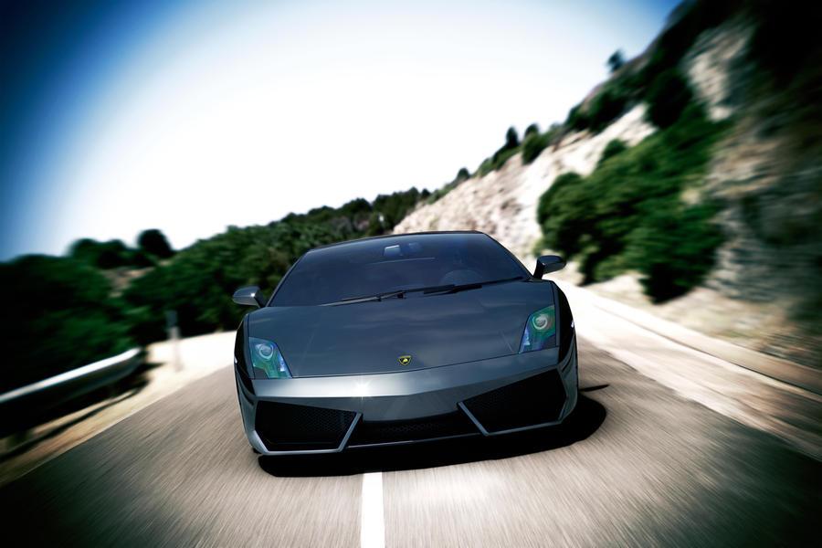 Lamborghini LP560-4 Day Shoot by DistortedImagery