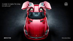 Mercedes SLS AMG Studio by DistortedImagery
