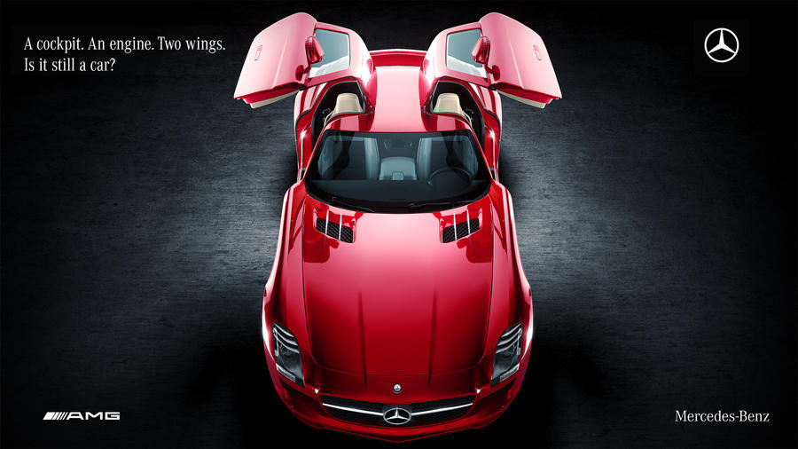 Mercedes SLS AMG Studio by DistortedImagery