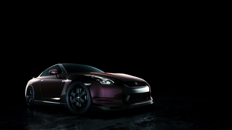 Nissan GTR VSPEC Studio by DistortedImagery