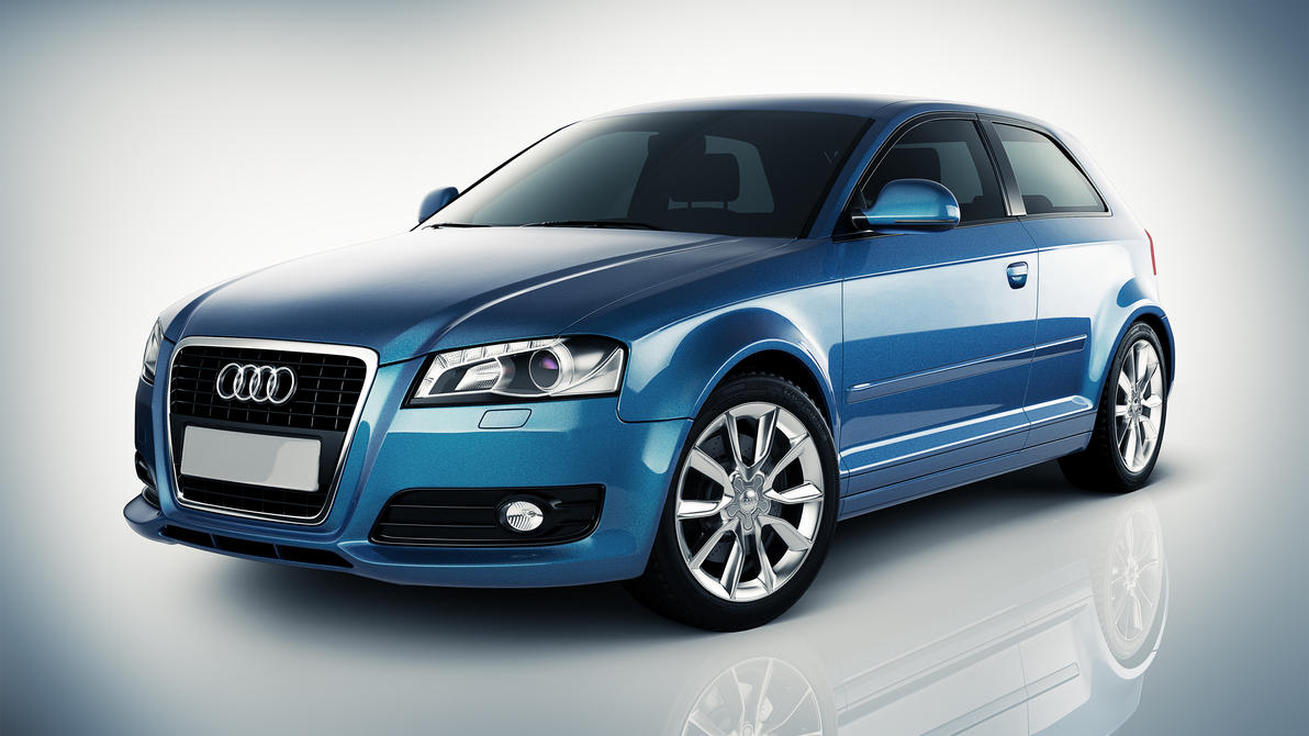 Audi A3 Studio Shot. by DistortedImagery