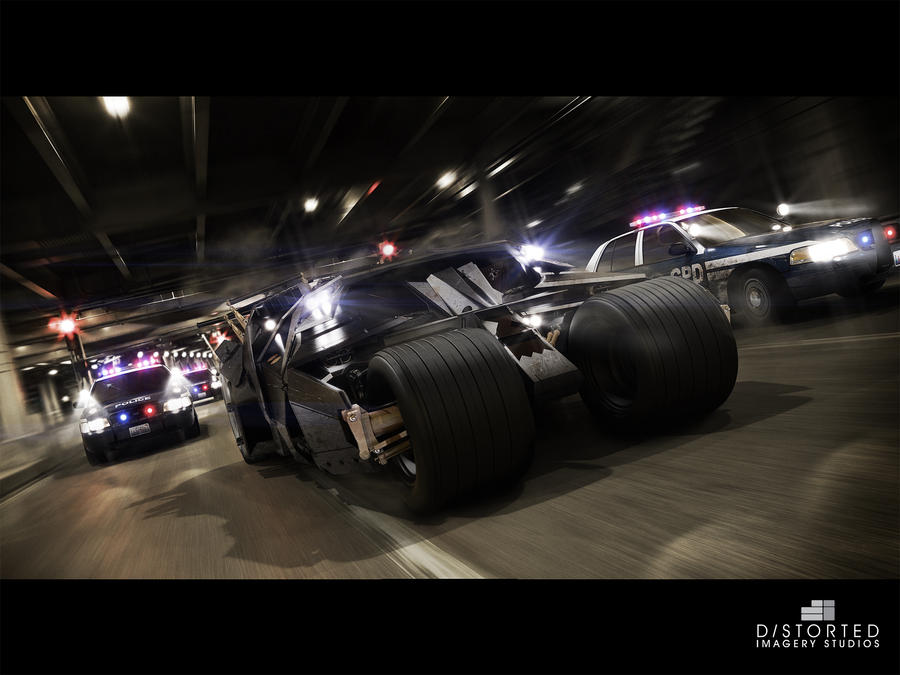 TheDarkNightRises Tumbler Chase by DistortedImagery on ...
