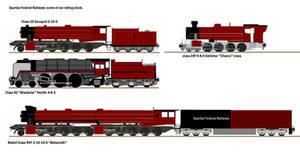 Spartan Federal Railways 1